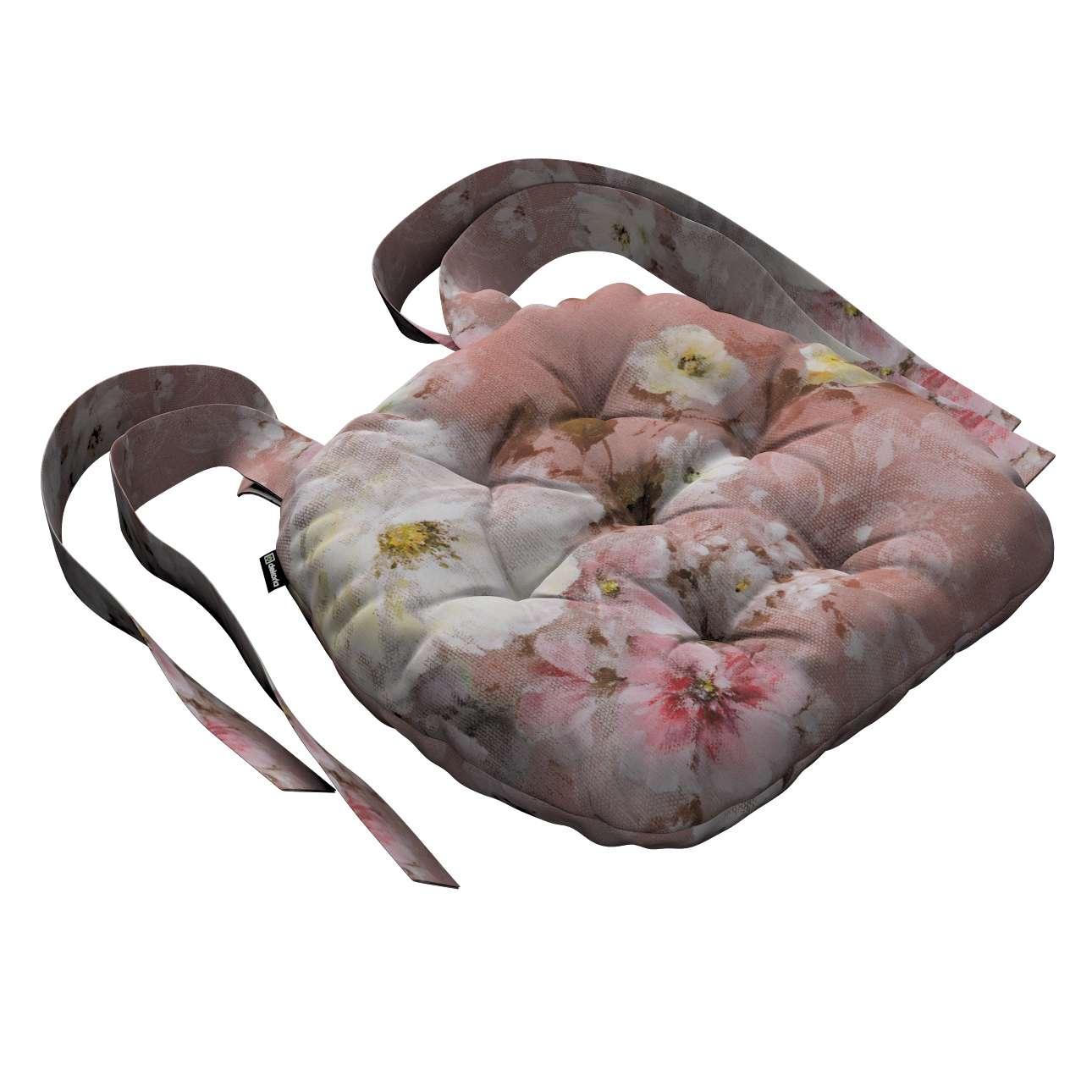 Kėdės pagalvėlė Marcin (apvaliais kraštais) 40 x 37 x 8 cm kolekcijoje Monet, audinys: 137-83