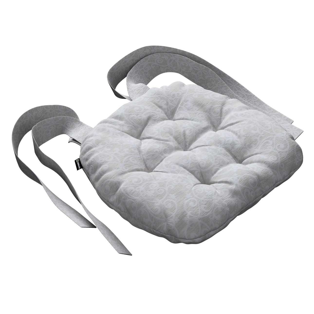 Kėdės pagalvėlė Marcin (apvaliais kraštais) 40 x 37 x 8 cm kolekcijoje Venice, audinys: 140-49