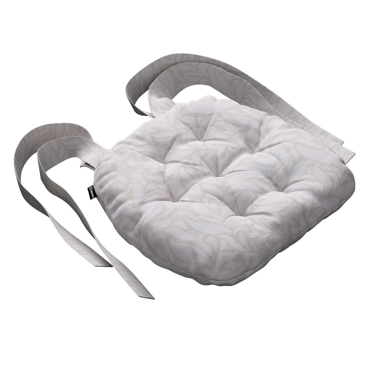 Kėdės pagalvėlė Marcin (apvaliais kraštais) 40 x 37 x 8 cm kolekcijoje Venice, audinys: 140-50