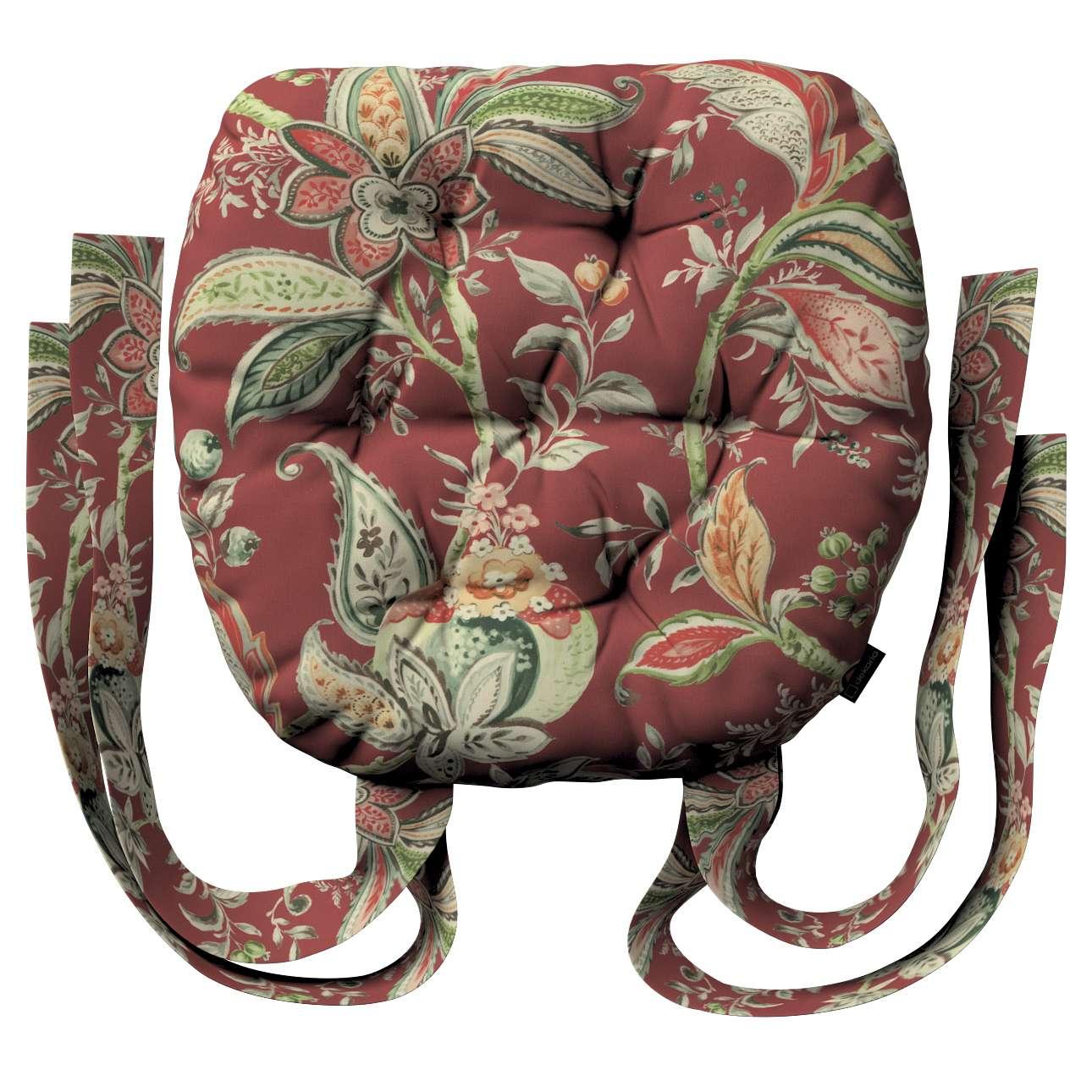 Siedzisko Marcin na krzesło w kolekcji Gardenia, tkanina: 142-12