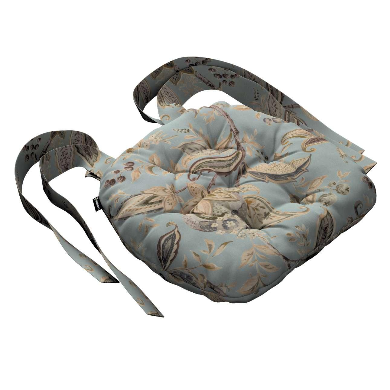 Siedzisko Marcin na krzesło w kolekcji Gardenia, tkanina: 142-18