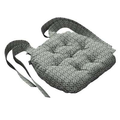 Siedzisko Marcin na krzesło w kolekcji Black & White, tkanina: 142-76