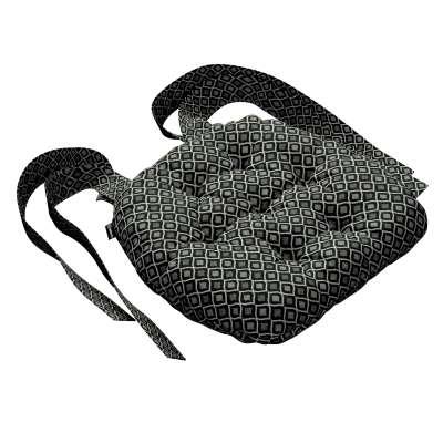 Siedzisko Marcin na krzesło w kolekcji Black & White, tkanina: 142-86