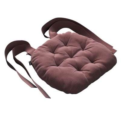 Siedzisko Marcin na krzesło 705-38 jasna śliwka - welwet Kolekcja Ingrid