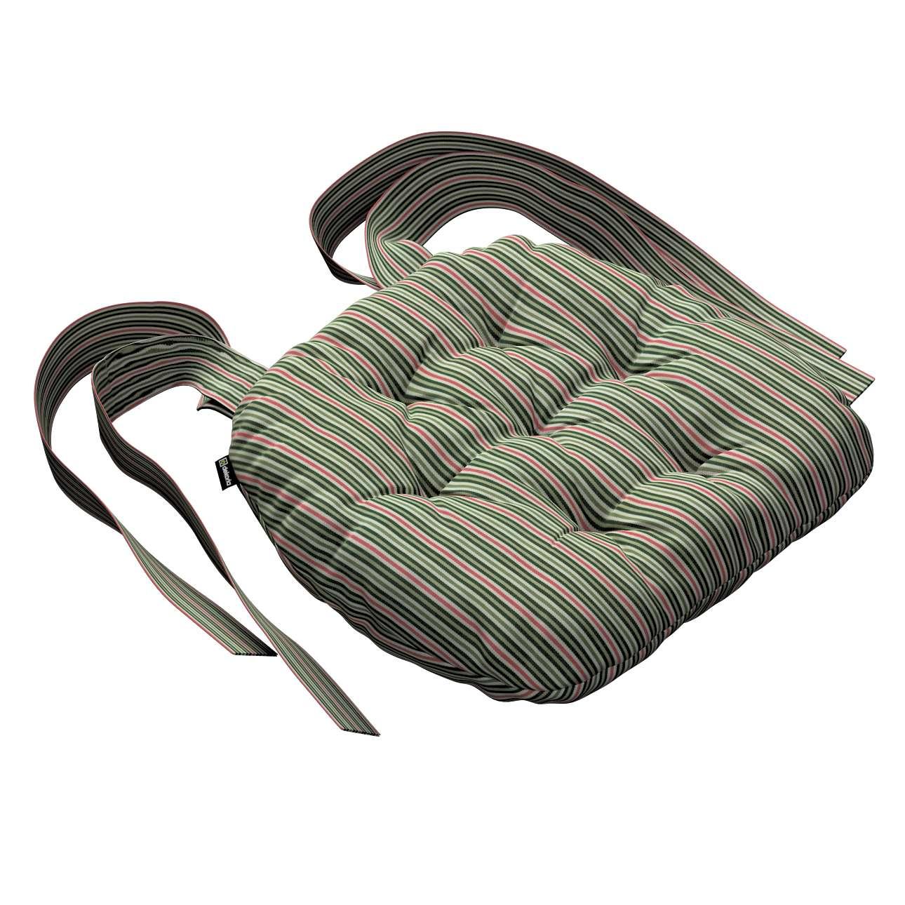 Siedzisko Marcin na krzesło w kolekcji Londres, tkanina: 143-42