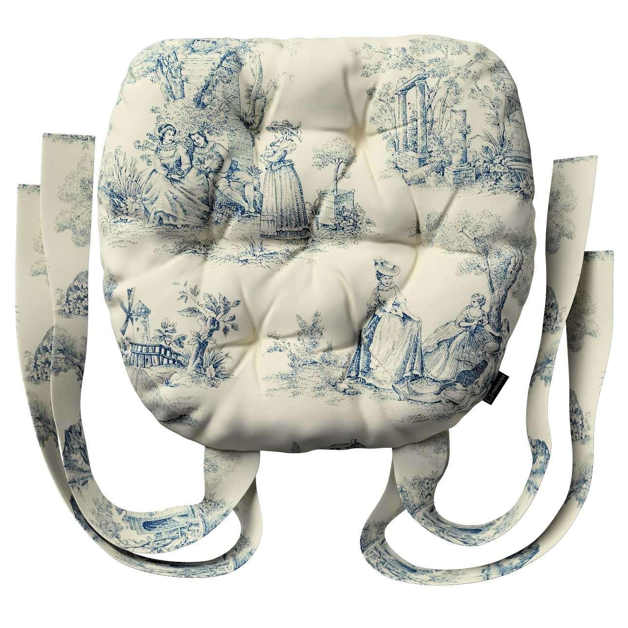 Siedzisko Marcin na krzesło 40x37x8cm w kolekcji Avinon, tkanina: 132-66