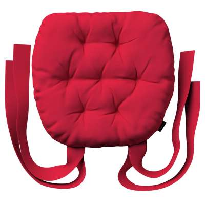 Martin seat pad with bows 136-19 red Collection Christmas