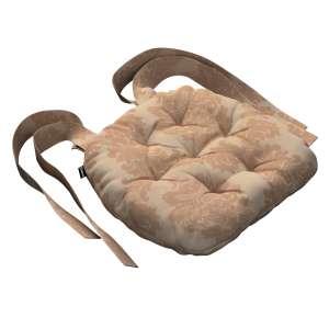 Siedzisko Marcin na krzesło 40x37x8cm w kolekcji Damasco, tkanina: 613-04