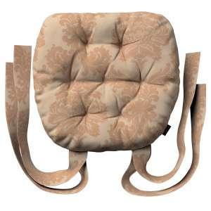 Kėdės pagalvėlė Marcin (apvaliais kraštais) 40 x 37 x 8 cm kolekcijoje Damasco, audinys: 613-04