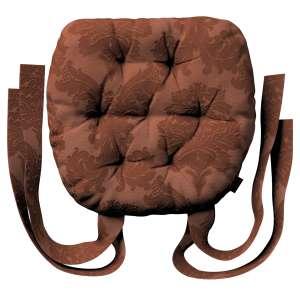Kėdės pagalvėlė Marcin (apvaliais kraštais) 40 x 37 x 8 cm kolekcijoje Damasco, audinys: 613-88