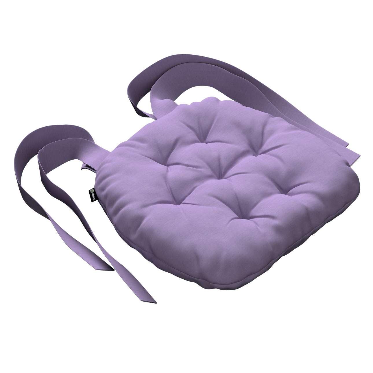 Siedzisko Marcin na krzesło 40x37x8cm w kolekcji Jupiter, tkanina: 127-74