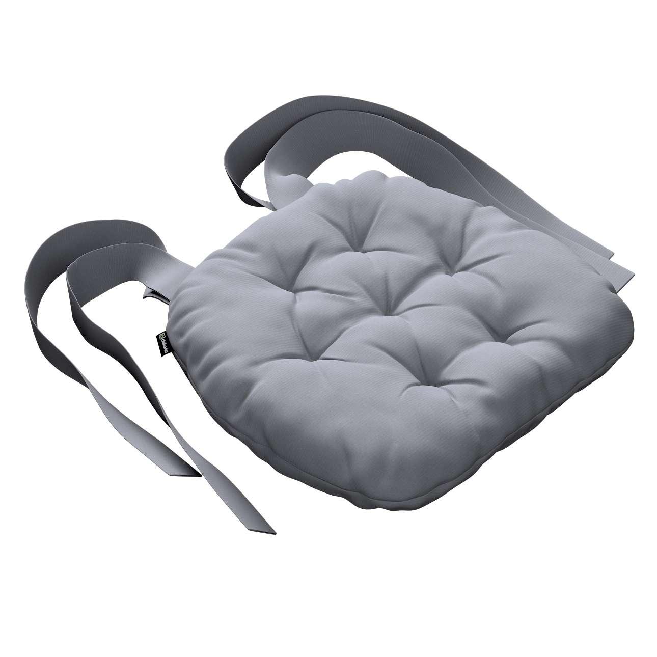 Siedzisko Marcin na krzesło 40x37x8cm w kolekcji Jupiter, tkanina: 127-92