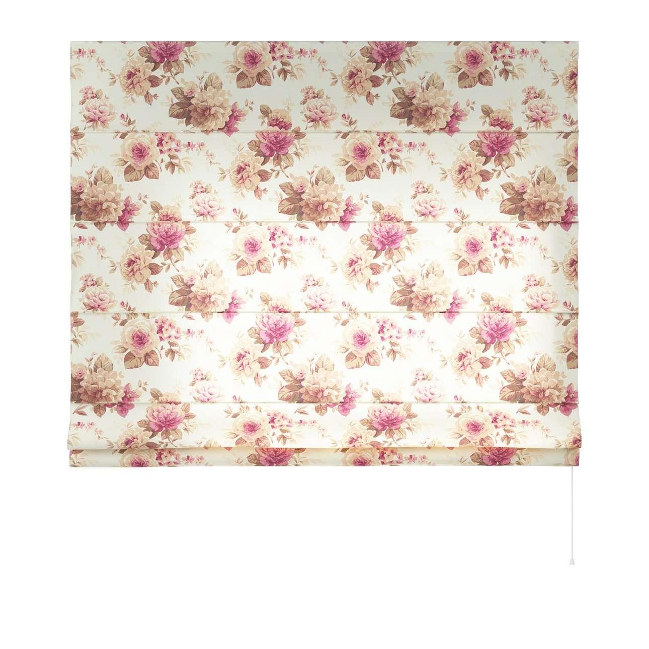Foldegardin Capri<br/>Uden flæsekant 80 x 170 cm fra kollektionen Mirella, Stof: 141-06
