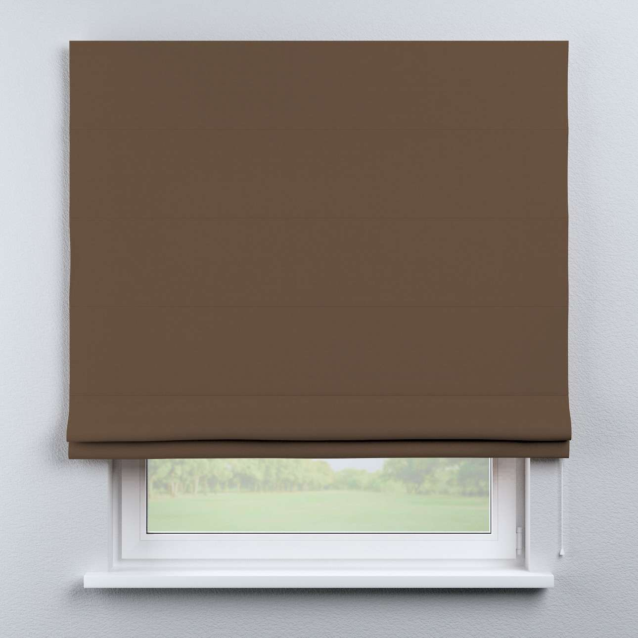 Raffrollo Capri 80 x 170 cm von der Kollektion Cotton Panama, Stoff: 702-02