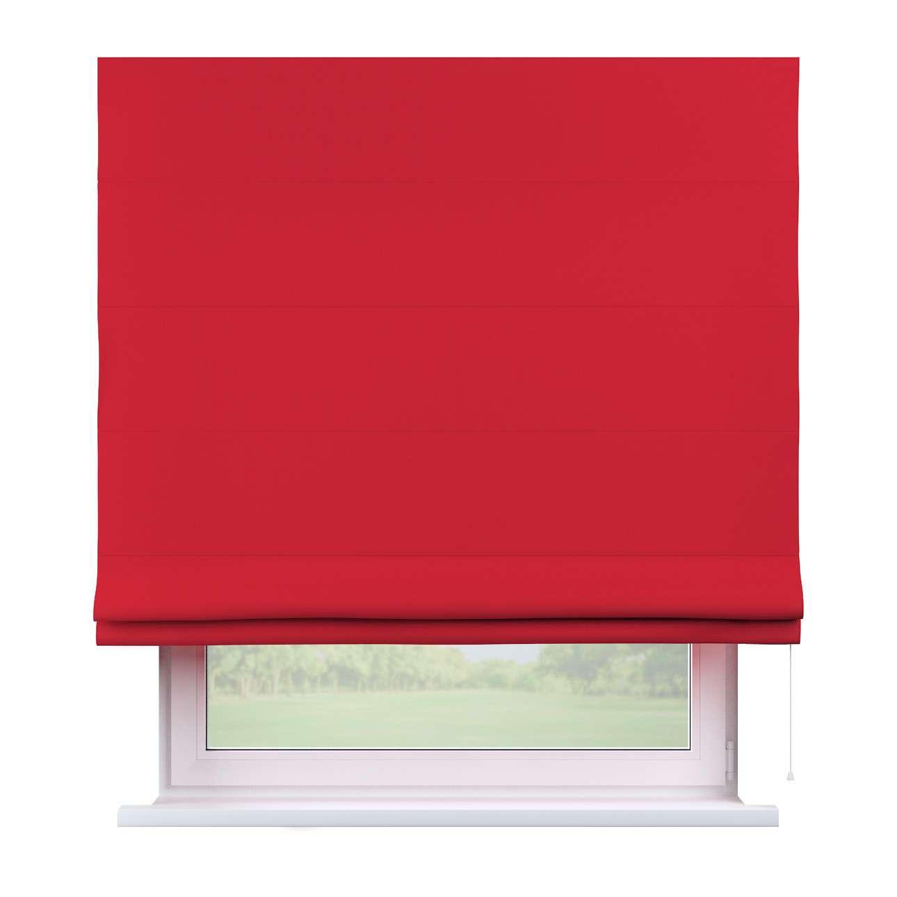 Raffrollo Capri, rot, 160 × 170 cm, Cotton Panama   Heimtextilien > Jalousien und Rollos > Raffrollos   Dekoria