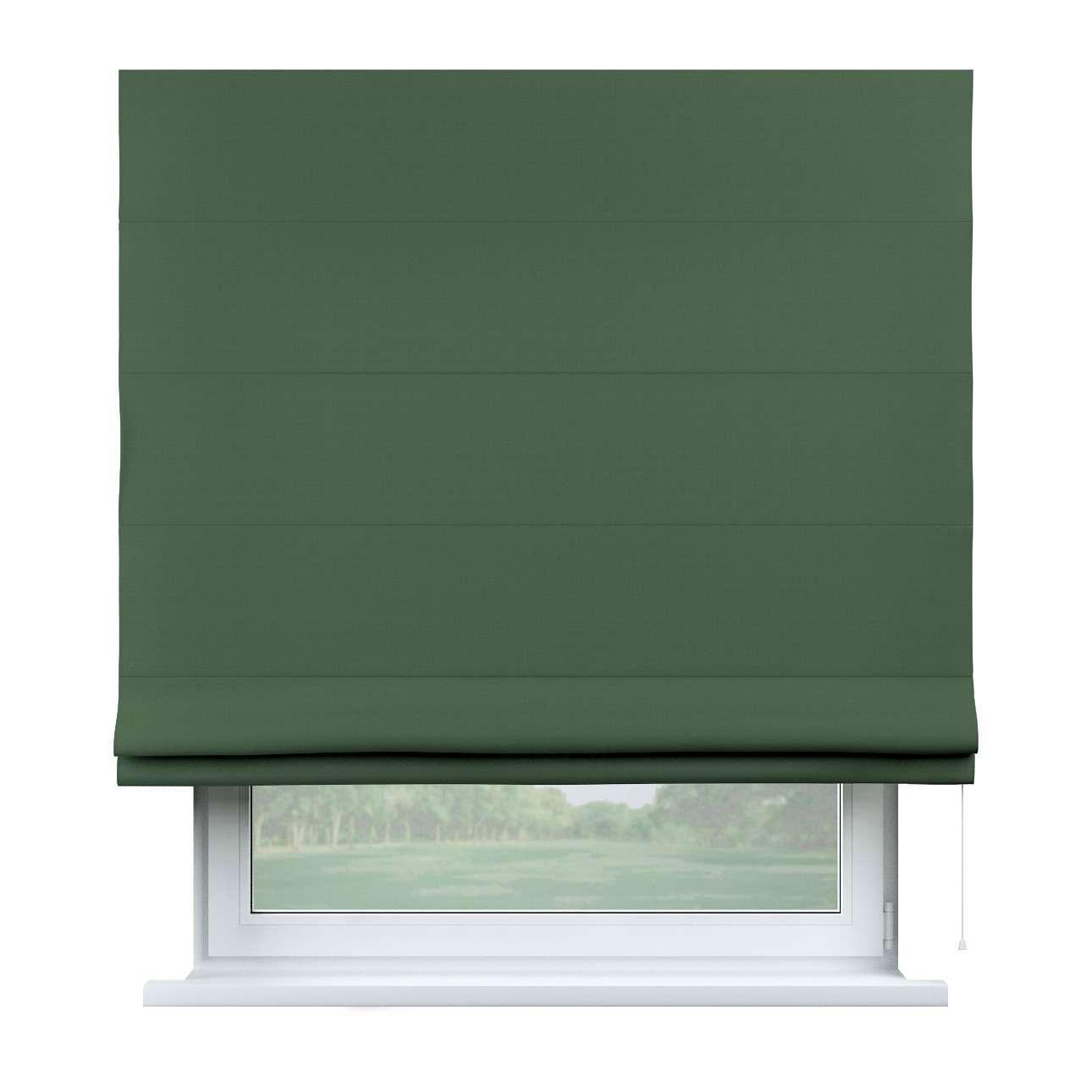 Raffrollo Capri, waldgrün, 80 × 170 cm, Cotton Panama