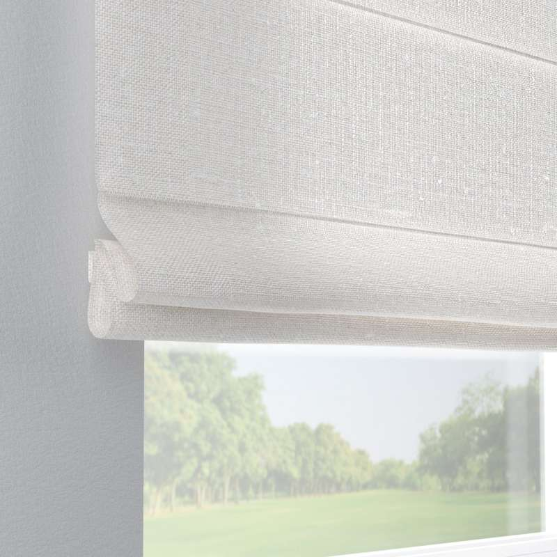 Capri roman blind in collection Linen, fabric: 392-04