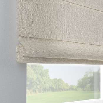 Capri roman blind in collection Linen, fabric: 392-05