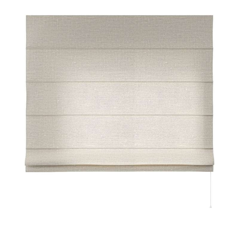 Capri roman blind in collection Linen, fabric: 392-05