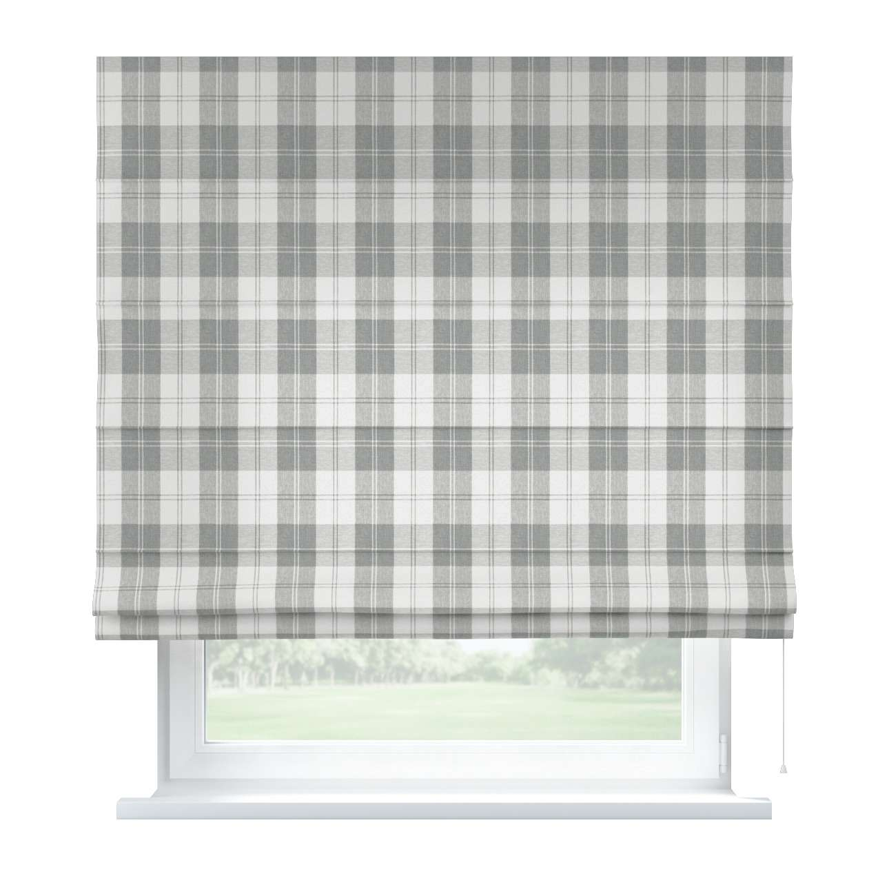 Capri roman blind 80 x 170 cm (31.5 x 67 inch) in collection Edinburgh , fabric: 115-79