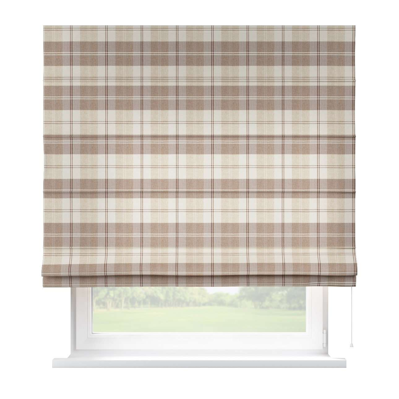 Capri roman blind 80 x 170 cm (31.5 x 67 inch) in collection Edinburgh , fabric: 115-80