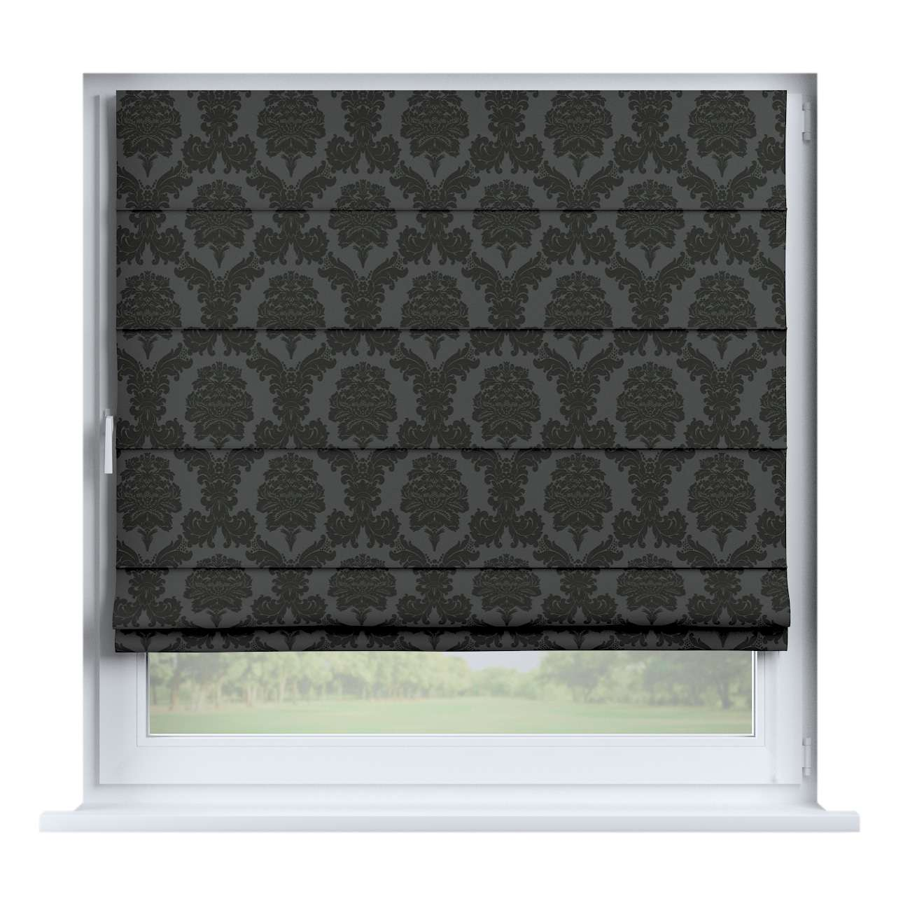 Capri roman blind 80 x 170 cm (31.5 x 67 inch) in collection Damasco, fabric: 613-32