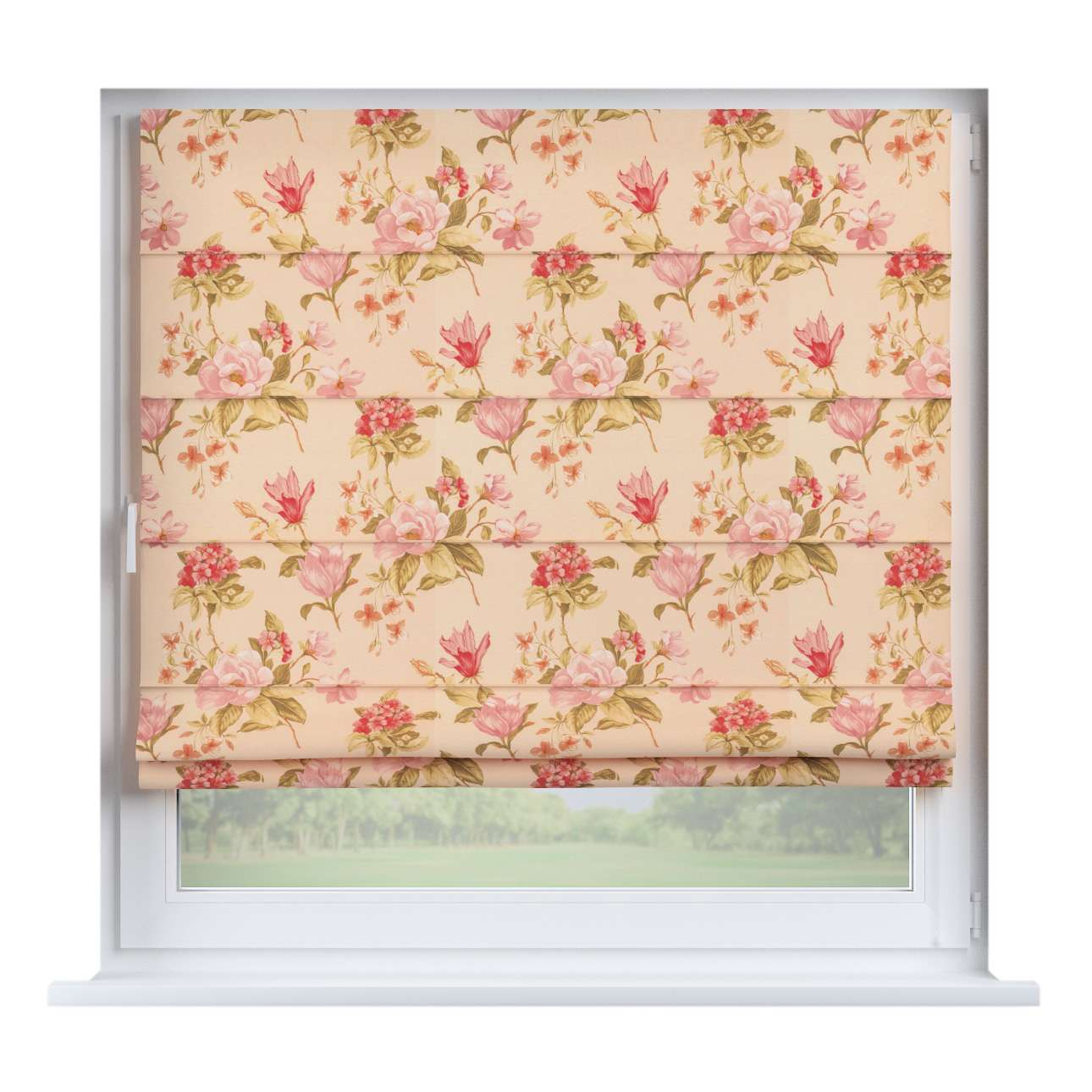 Capri roman blind in collection Londres, fabric: 123-05