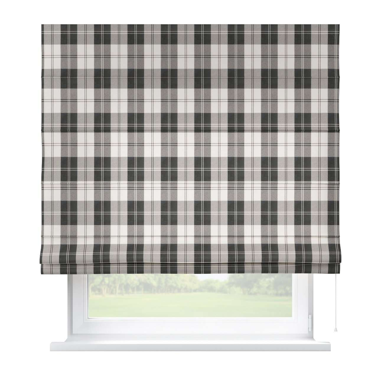 Capri roman blind 80 x 170 cm (31.5 x 67 inch) in collection Edinburgh , fabric: 115-74