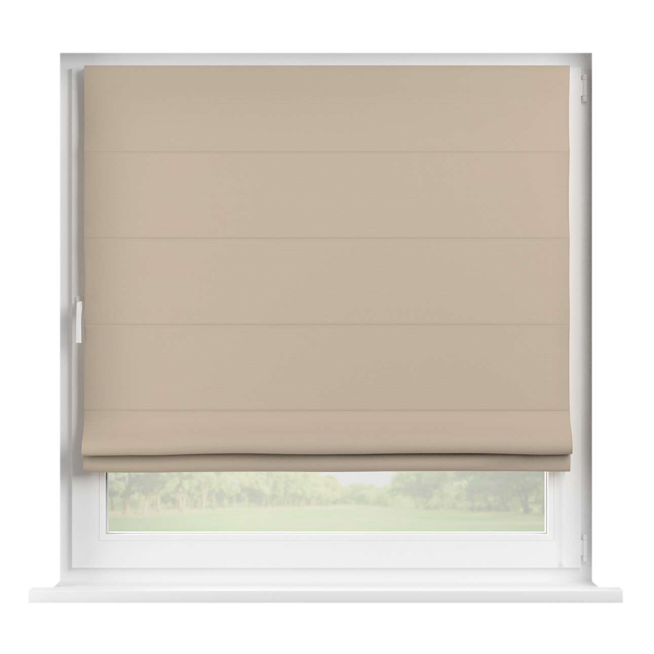 Capri roman blind in collection Panama Cotton, fabric: 702-28