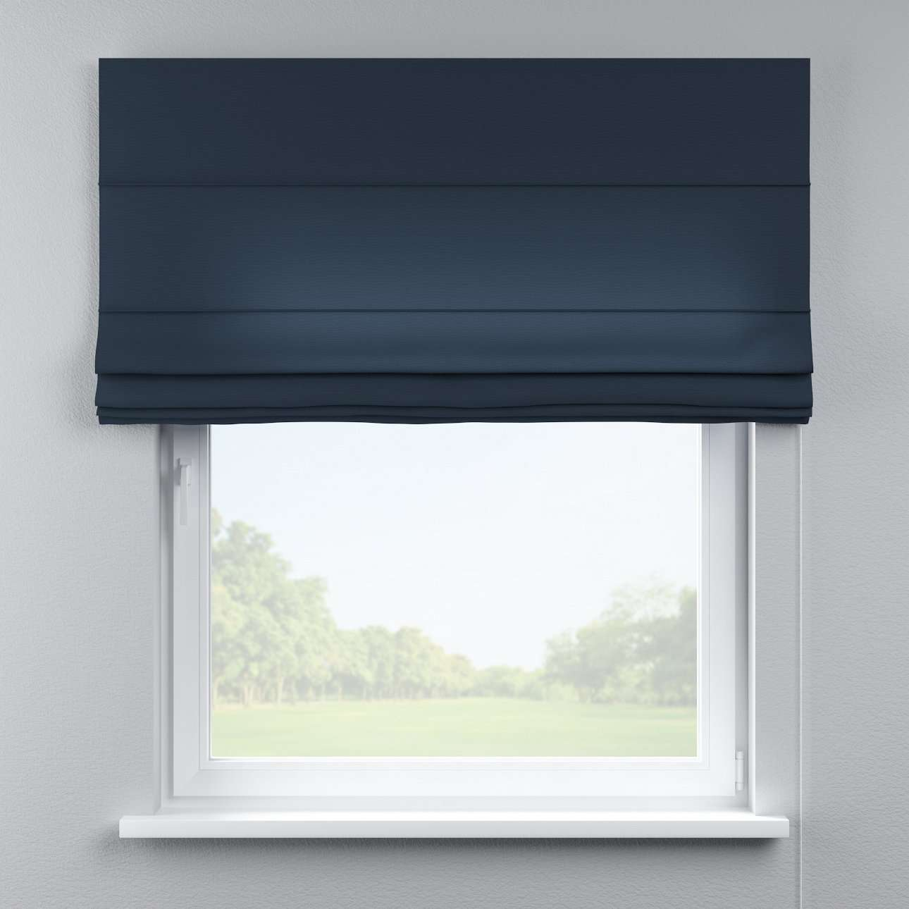Capri roman blind in collection Quadro, fabric: 136-04