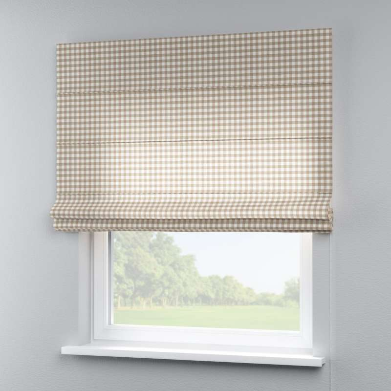 Capri roman blind in collection Quadro, fabric: 136-06