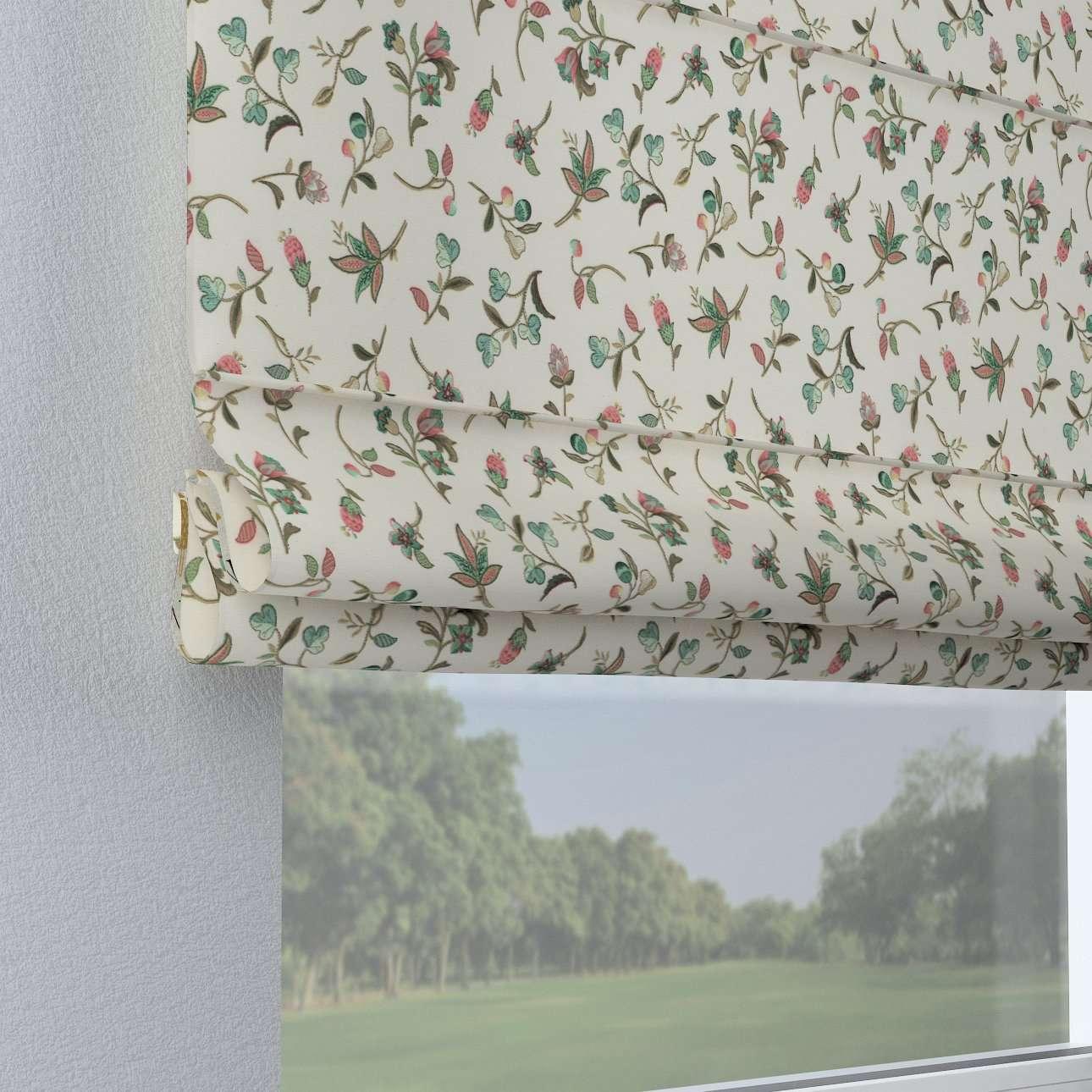 Foldegardin Capri<br/>Uden flæsekant 80 x 170 cm fra kollektionen Londres, Stof: 122-02