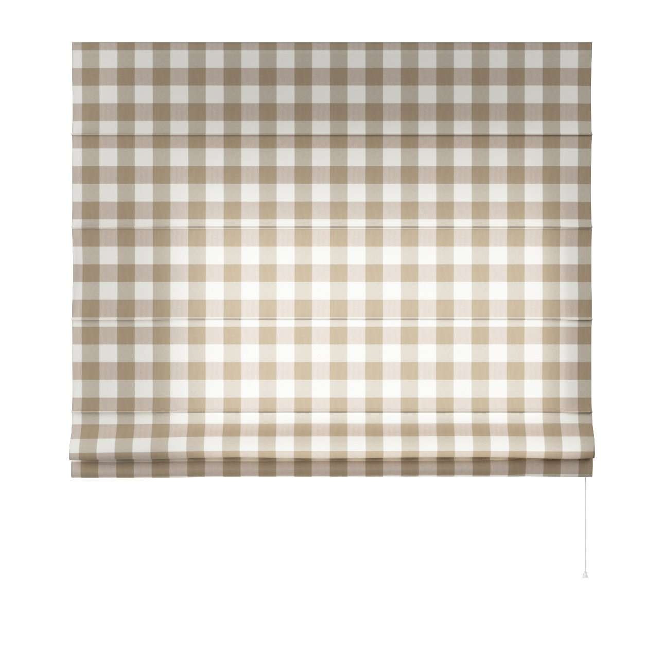 Capri roman blind in collection Quadro, fabric: 136-08