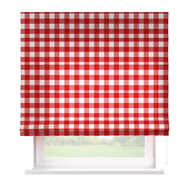Capri roman blind in collection Quadro, fabric: 136-18