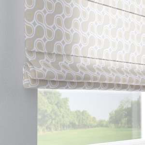 Capri roman blind 80 x 170 cm (31.5 x 67 inch) in collection Flowers, fabric: 311-11