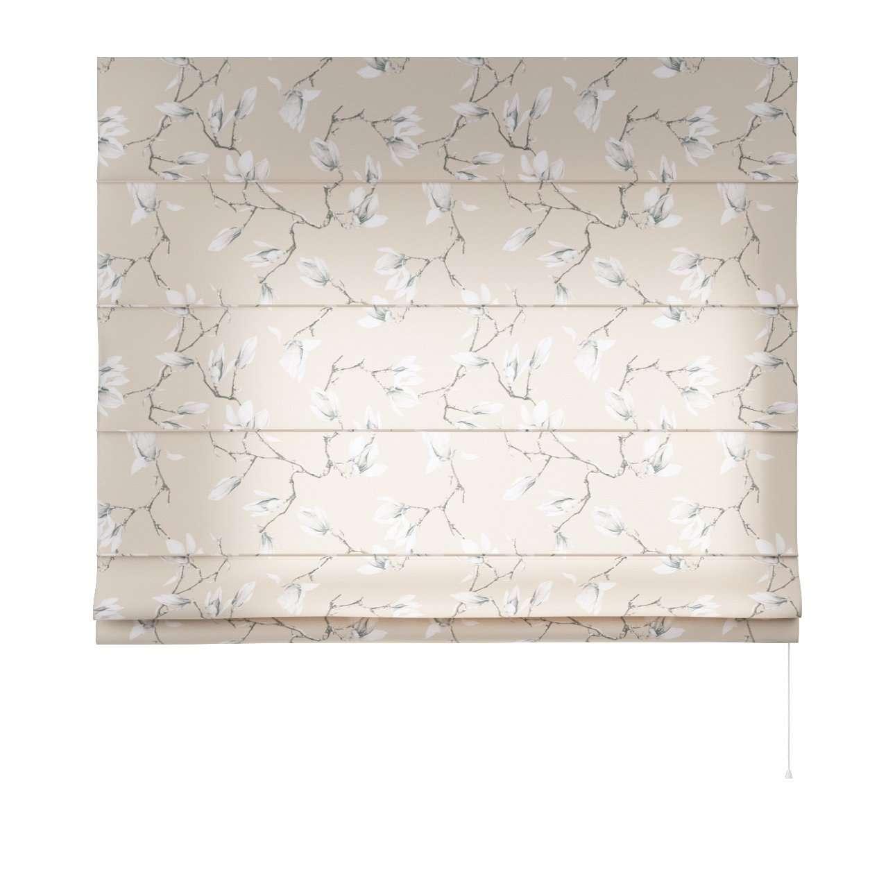 Capri raffrolók szél: 80 x magasság: 170 cm a kollekcióból Lakástextil Flowers/Luna, Dekoranyag: 311-12