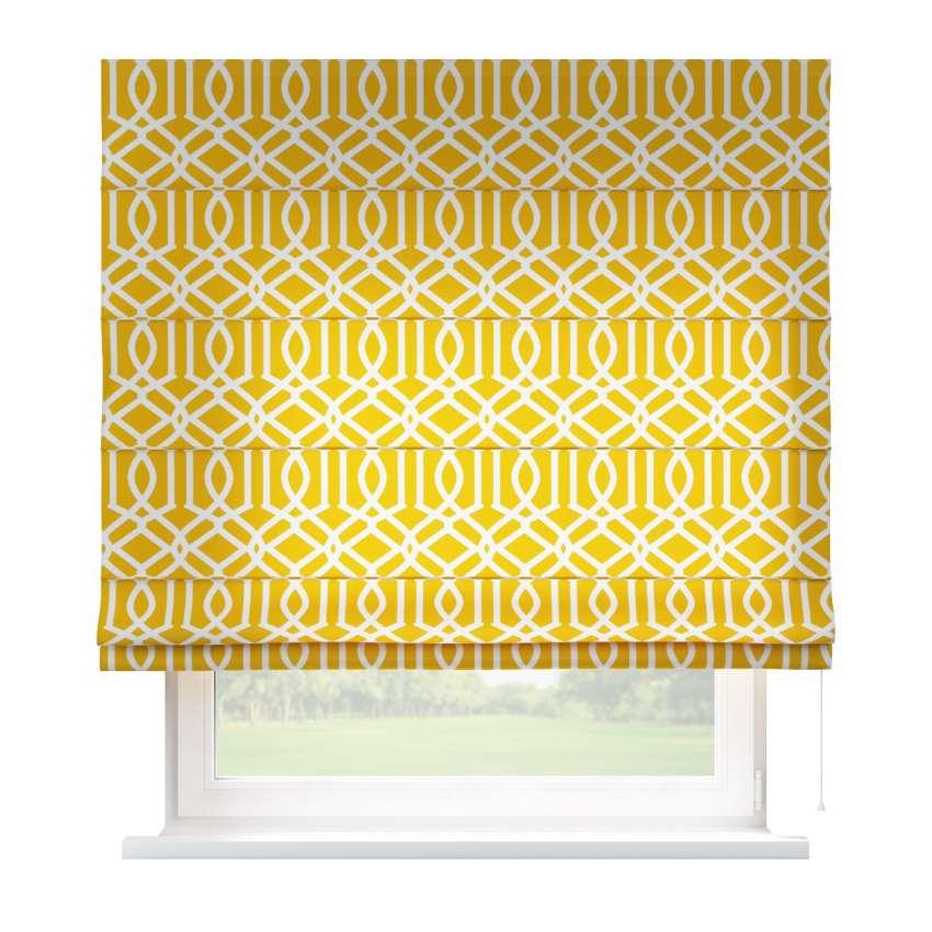 raffrollo capri gelb 80 x 170 cm dekoria. Black Bedroom Furniture Sets. Home Design Ideas