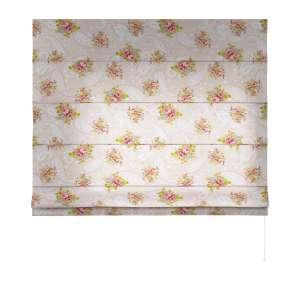 Foldegardin Capri<br/>Uden flæsekant 80 x 170 cm fra kollektionen Flowers, Stof: 311-15