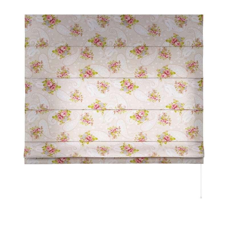 Vouwgordijn Capri van de collectie Flowers, Stof: 311-15
