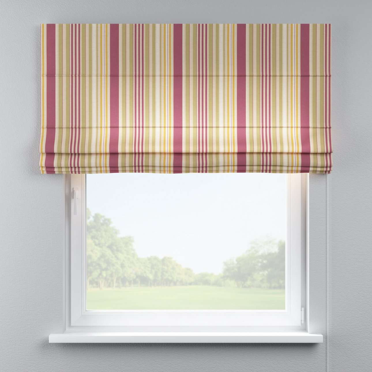 Capri roman blind 80 x 170 cm (31.5 x 67 inch) in collection Londres, fabric: 122-09