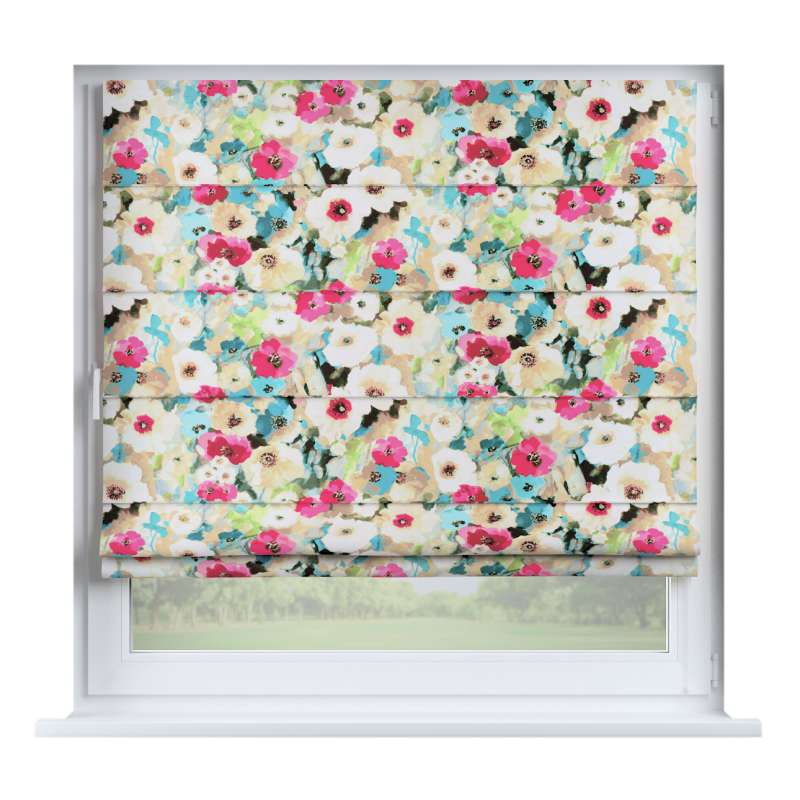 Capri roman blind in collection Monet, fabric: 140-08