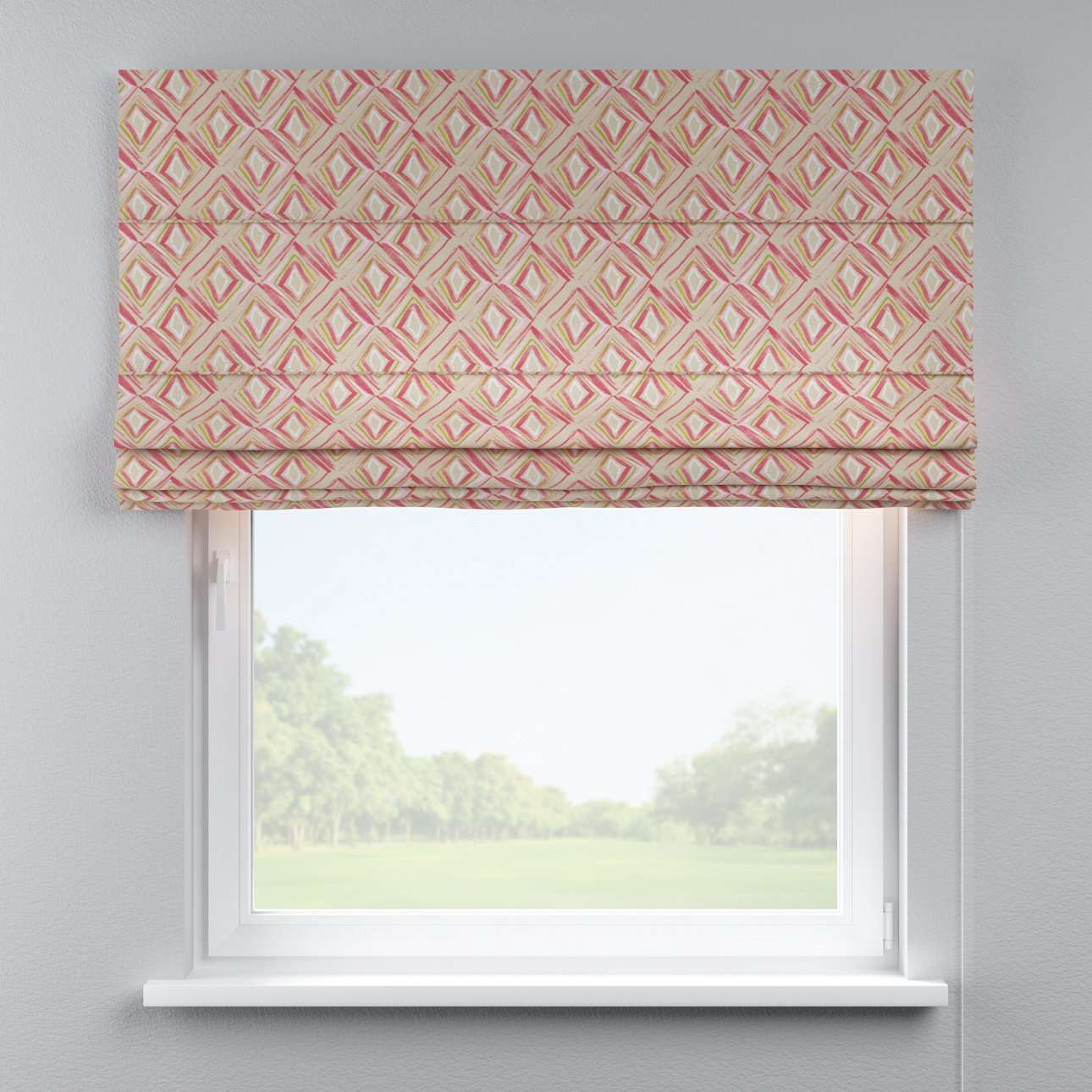 Capri roman blind 80 x 170 cm (31.5 x 67 inch) in collection Londres, fabric: 140-45
