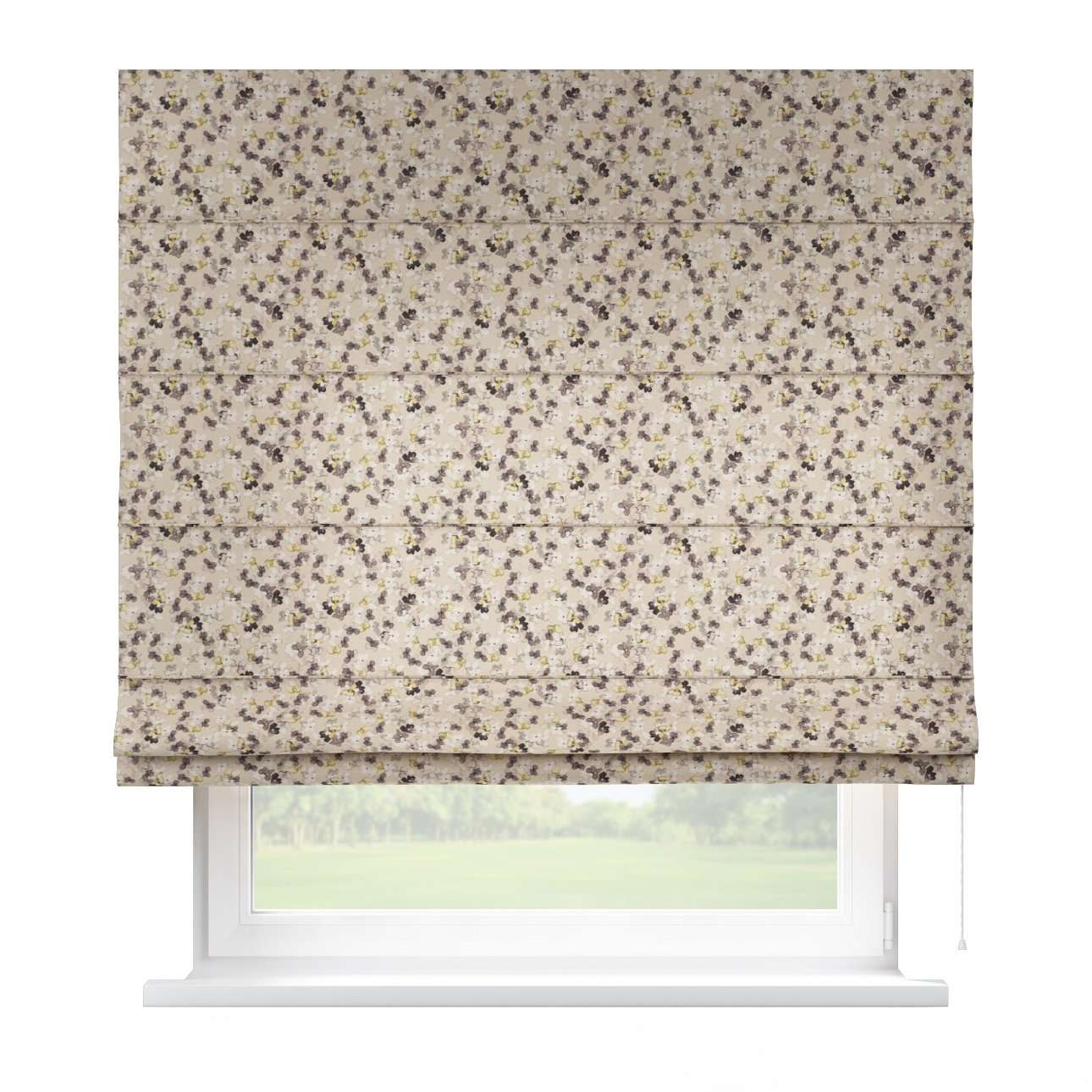 Capri roman blind 80 x 170 cm (31.5 x 67 inch) in collection Londres, fabric: 140-48
