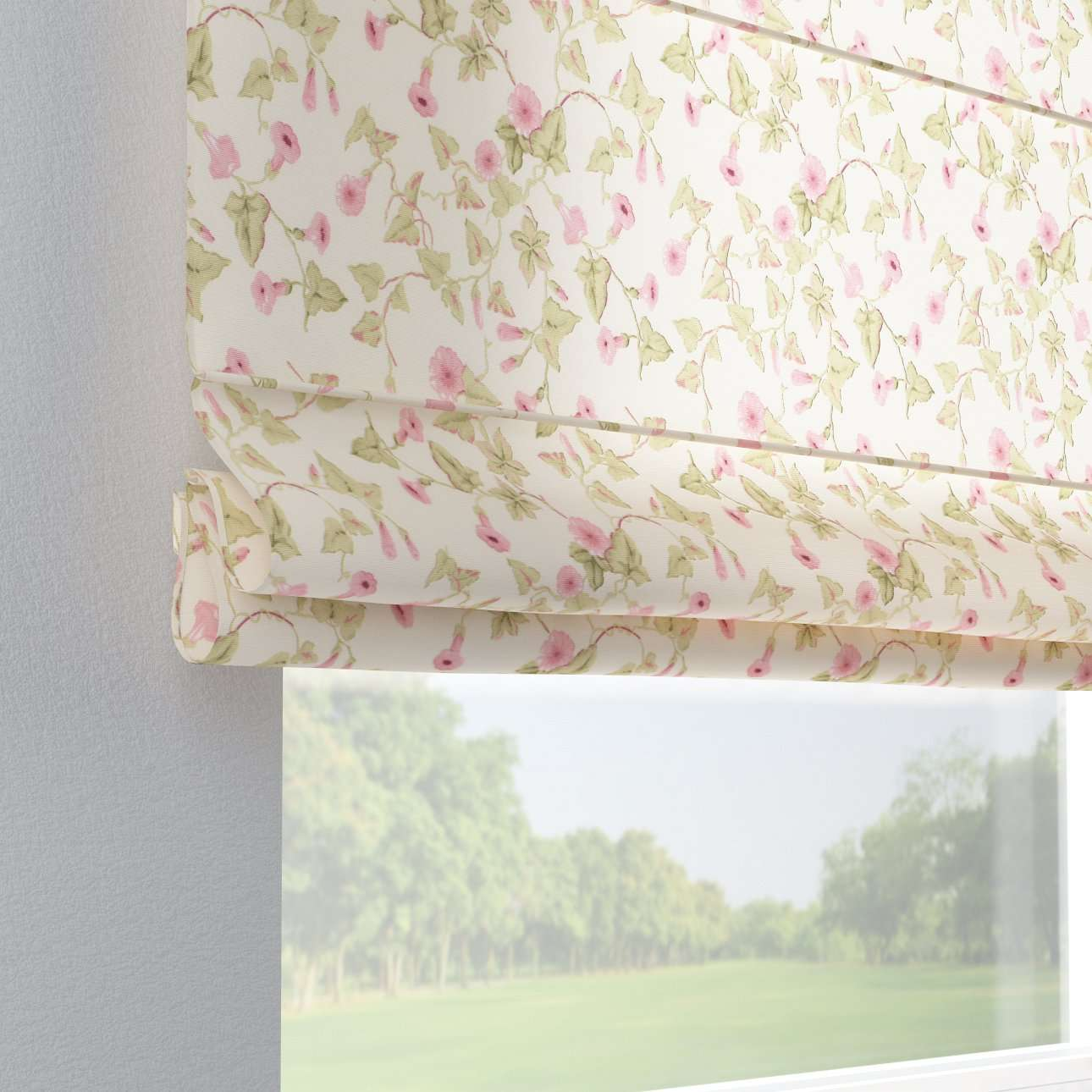 Capri roman blind in collection Mirella, fabric: 140-41