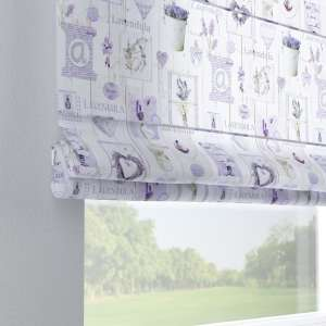 Capri roman blind 80 x 170 cm (31.5 x 67 inch) in collection Ashley, fabric: 140-18