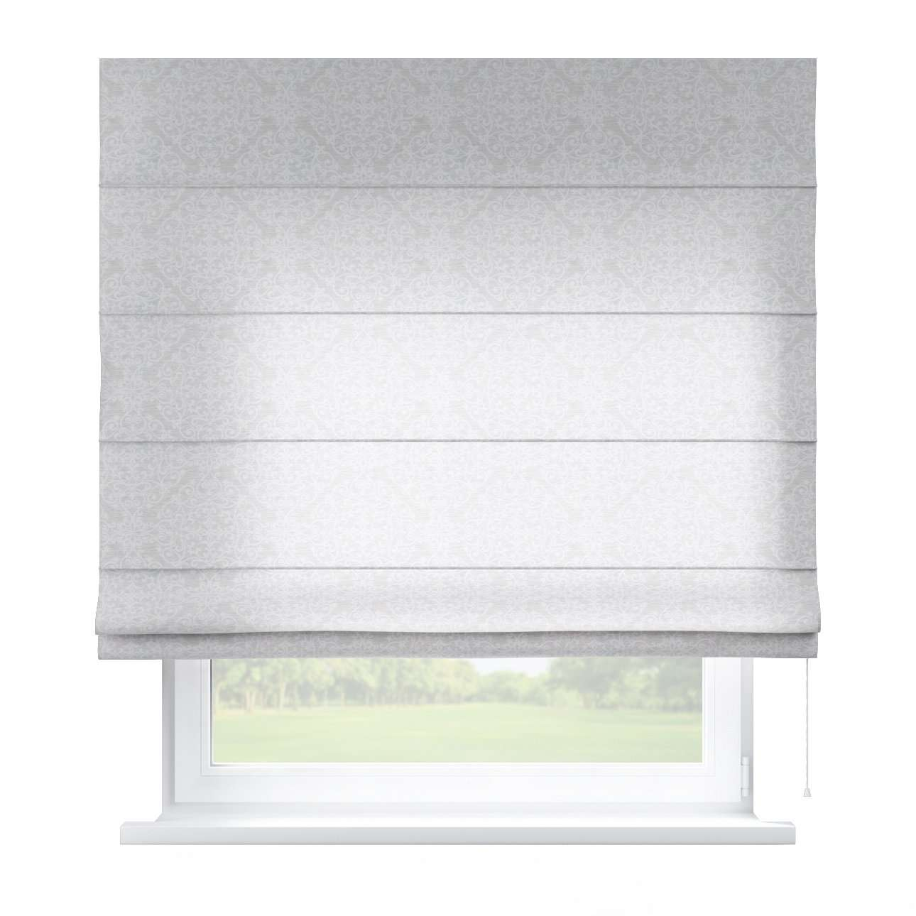 Capri roman blind 80 x 170 cm (31.5 x 67 inch) in collection Venice, fabric: 140-49