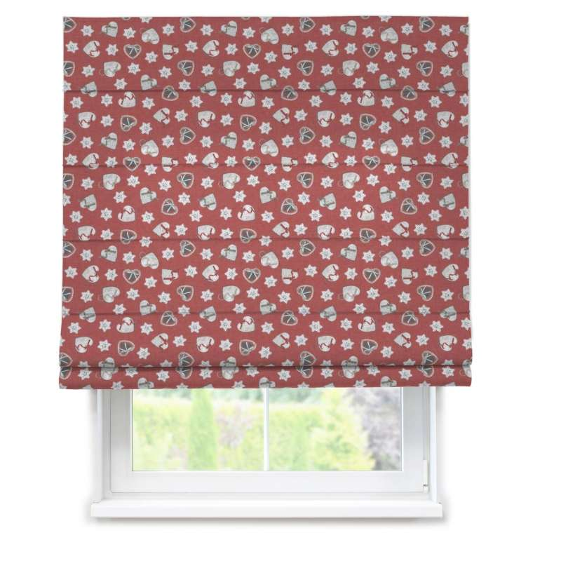 Capri roman blind in collection Christmas, fabric: 629-29