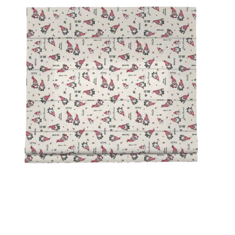 Capri roman blind in collection Christmas, fabric: 629-28