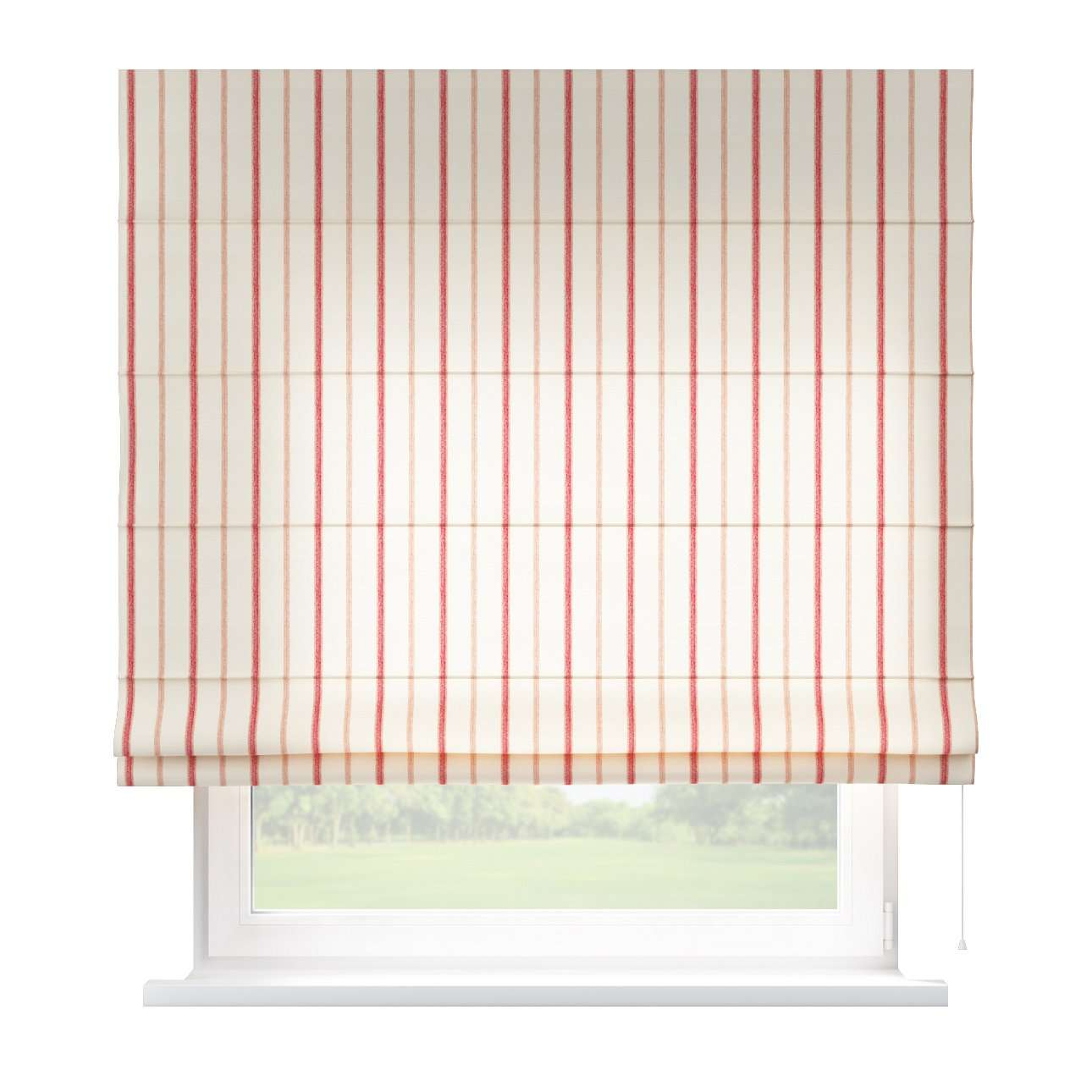 Capri roman blind 80 x 170 cm (31.5 x 67 inch) in collection Avinon, fabric: 129-15