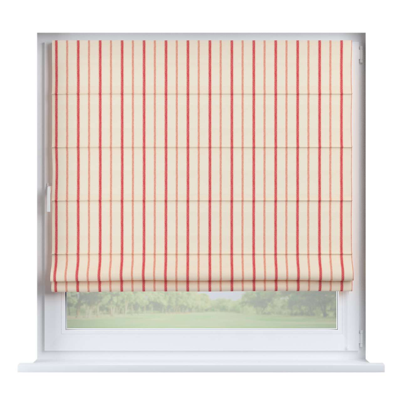 Capri roman blind in collection Avinon, fabric: 129-15